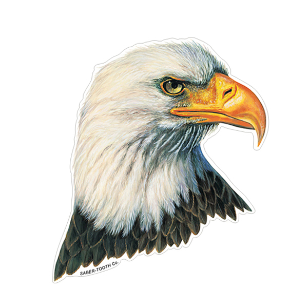 Bald Eagle Wildlife Decals Saber Tooth Co